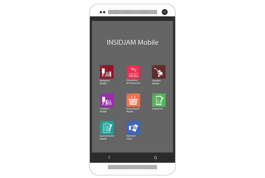 INSIDJAM ERP Algérie gestion applications mobiles
